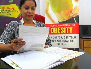 Dr. Sonal , Homeopathic Specialist Chandigarh